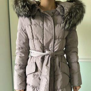 Winter coat. Real fur.